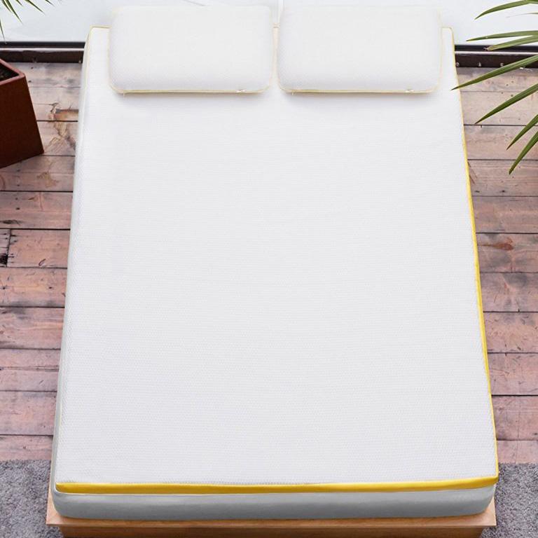 eve mattress topper top view