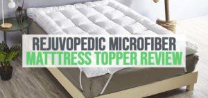 an image of rejuvopedic microfiber mattress topper