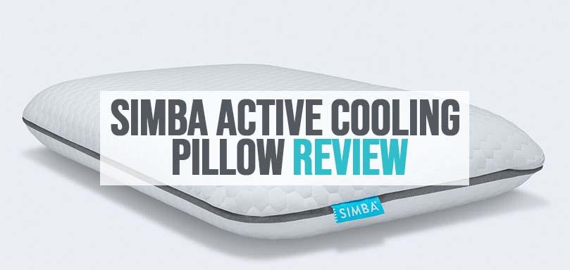 simba active cooling pillow review