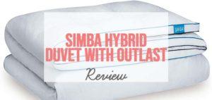 an image of simba hybrid duvet with outlast