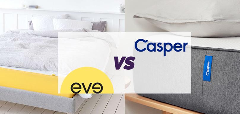 Eve mattress vs Casper