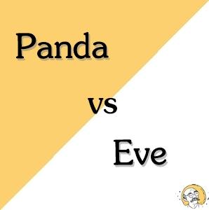 panda vs eve