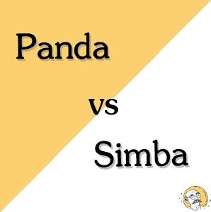 panda vs simba