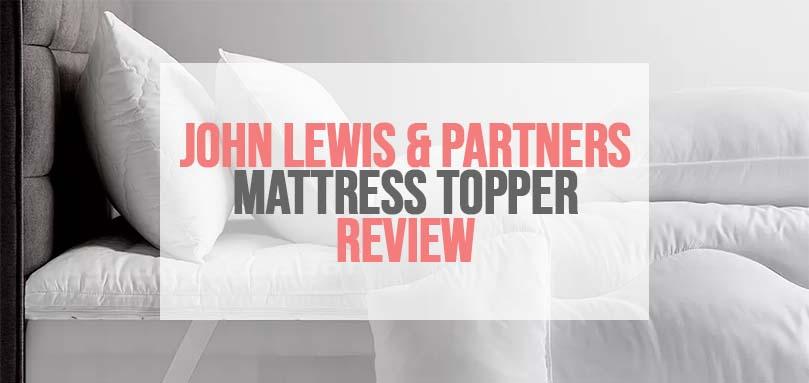 John Lewis & Partners Synthetic Dual Layer 6cm Mattress Topper