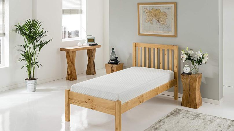 Silentnight 7 Zone mattress on a bed