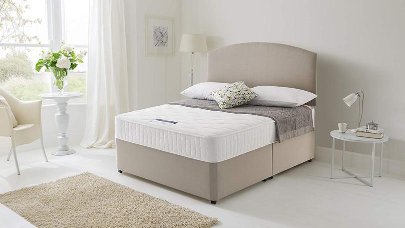 Silentnight Pocket Essentials Mattress in a bedroom