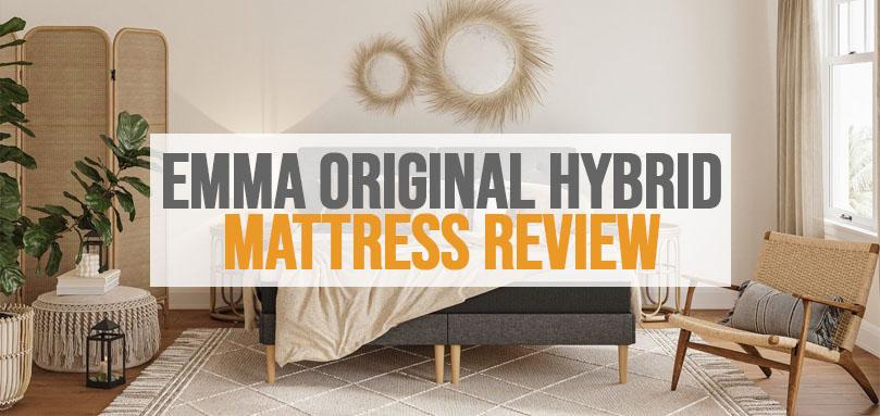 Featured Image of Emma Original Hybrid mattress