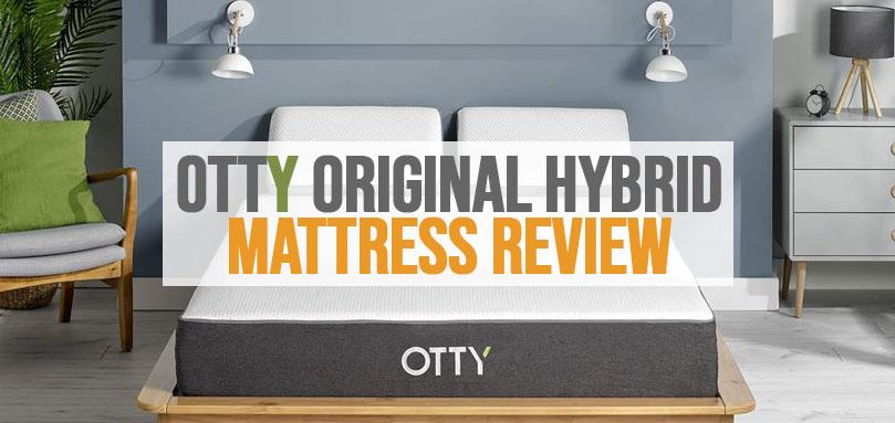 a featured image of otty original hybrid mattress